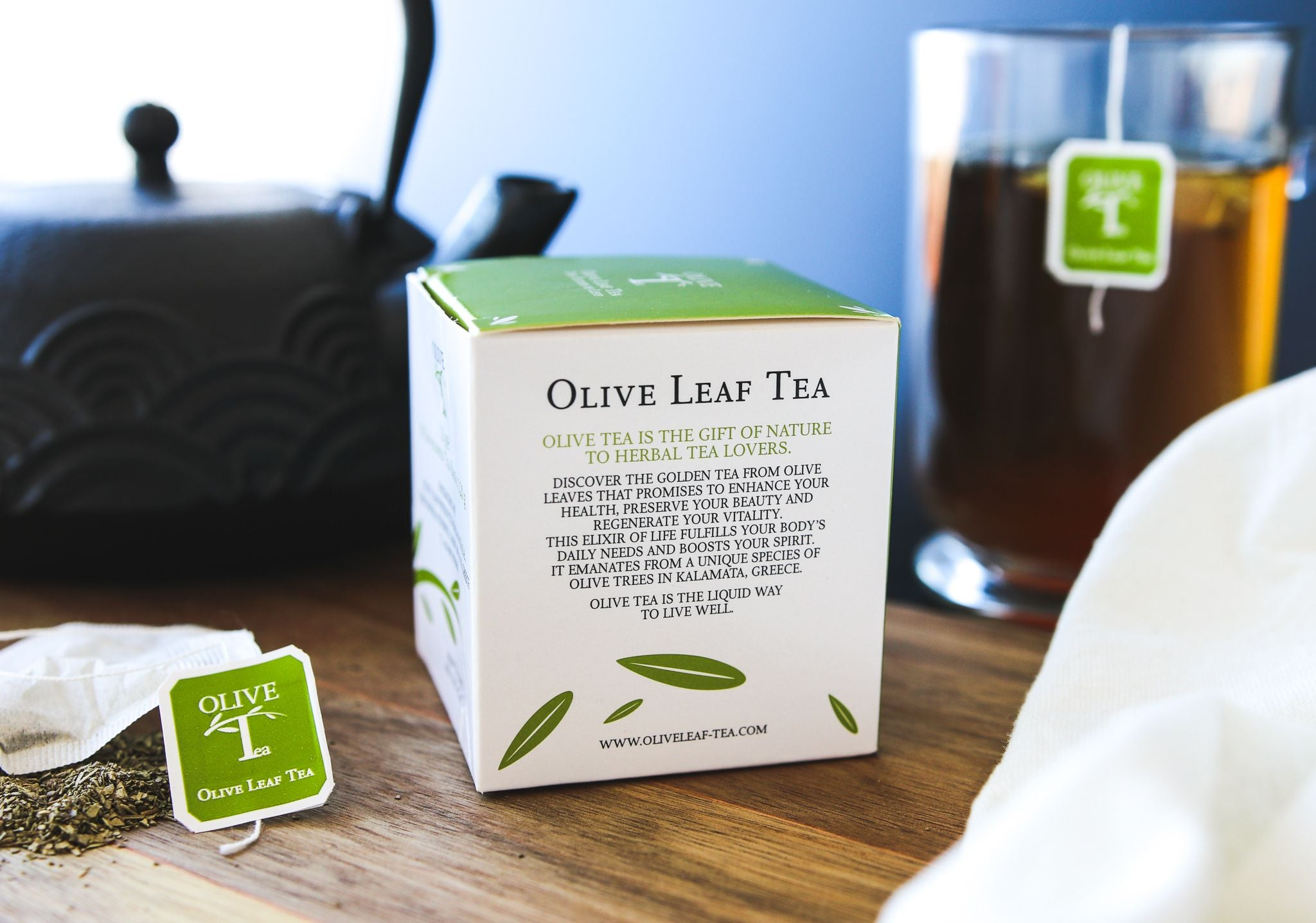 Olive Leaf Tea - The Elixir of Life