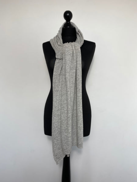 Cashmere Mix Button Scarf