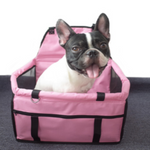 Load image into Gallery viewer, A Dog In A Pink Car Seat/Mesh Hammock