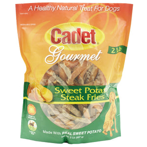 Sweet Potato Steak Fries Treats 2 pounds