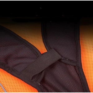 Orange Air Mesh Cooling Dog Vest