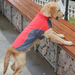 Load image into Gallery viewer, A Dog Wearing The Red Warm Reflective Dog Vest