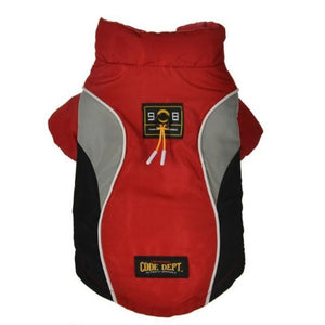 Red All Weather Dog Vest