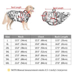 Load image into Gallery viewer, patterned Dog Vest Size Guide