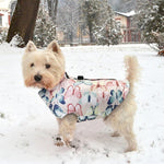 Load image into Gallery viewer, A Dog Wearing The Pink Patterned Dog Vest