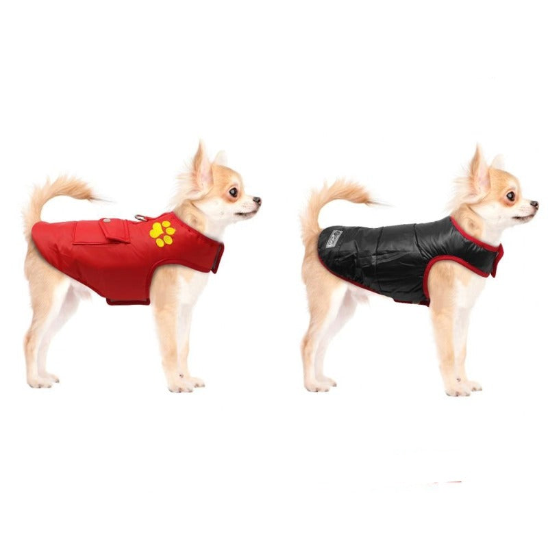 Double Sided Dog Vest Reverse Side