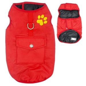 Red Double Sided Dog Vest