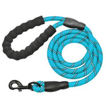 Load image into Gallery viewer, Toggy Doggy Blue Reflective Long Dog Leash