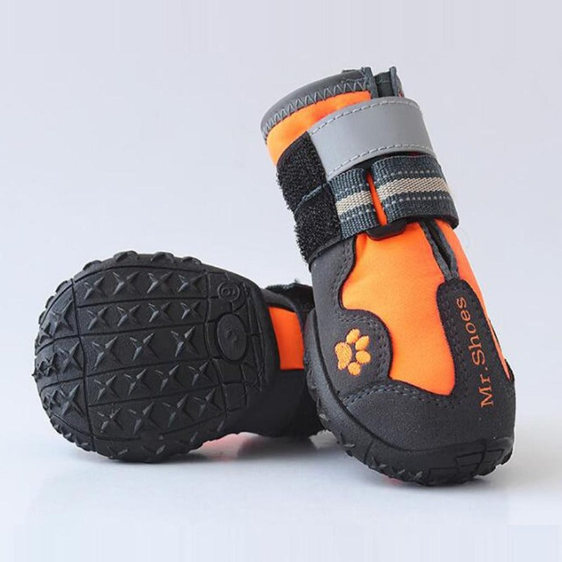 Gold Mountain Hiking Dog Booties