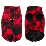 Load image into Gallery viewer, Red Patterned Dog Vest