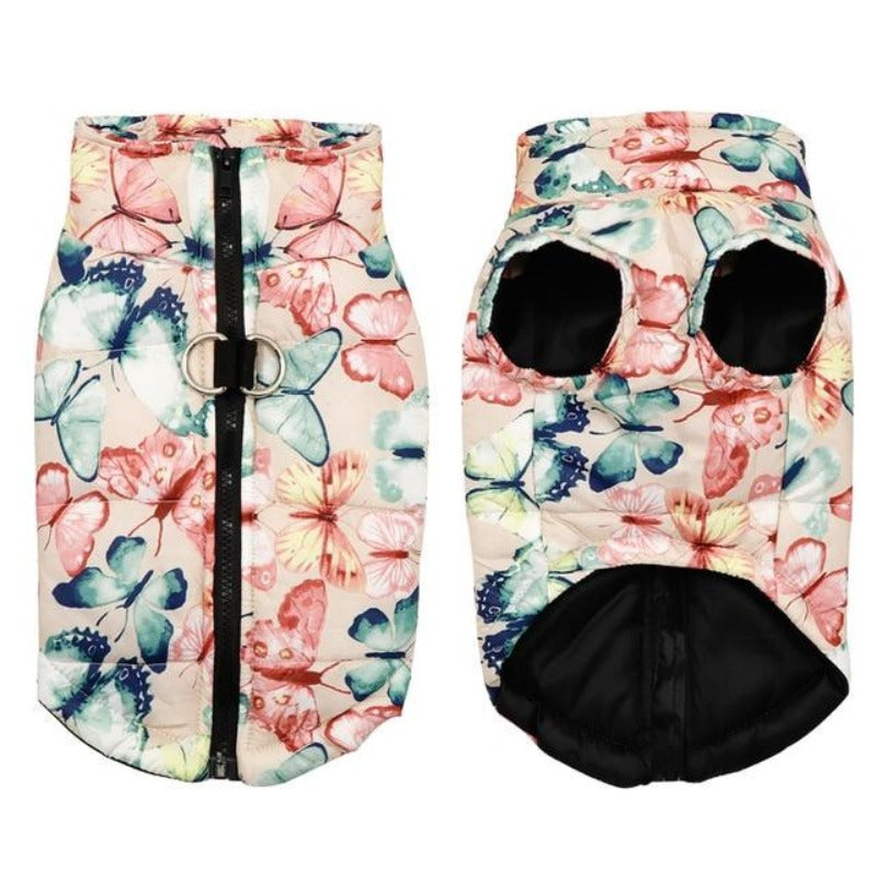 Pink Patterned Dog Vest