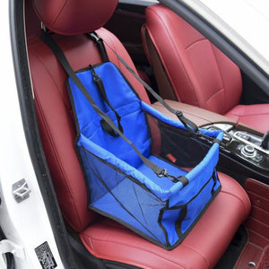 Blue Car Seat/Mesh Hammock For Dogs