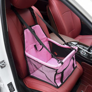 Pink Car Seat/Mesh Hammock For Dogs