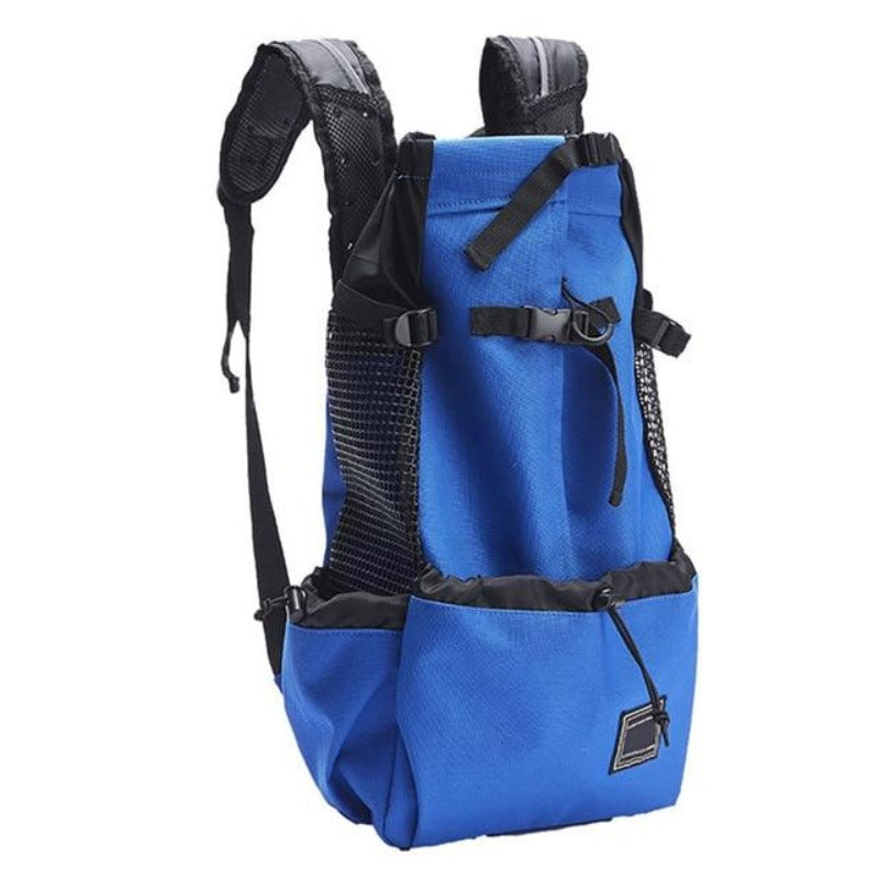 Blue Big Dog Shoulder Backpack