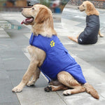 Load image into Gallery viewer, A Dog Wearing The Blue Double Sided Dog Vest