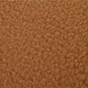 Brown Fleece Material Of The Slipper Dog Sleeping Bag