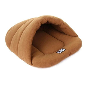 Brown Slipper Dog Sleeping Bag