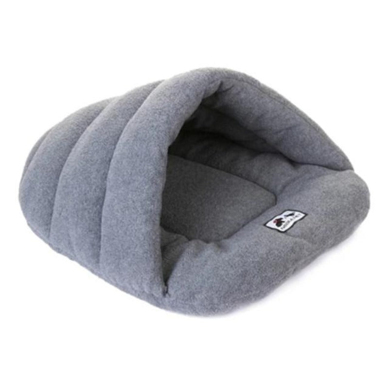 Gray Slipper Dog Sleeping Bag