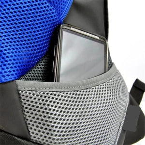 Storage Pockets Of The Blue Front Carrying Dog Backpack