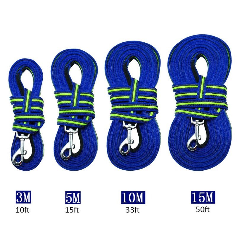 Long Training Dog Leash Sizes