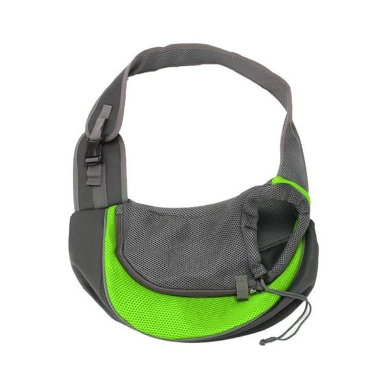 Green Sling Dog Tote