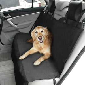 A Dog Sitting On The Washable Dog Seat Cover/Mat