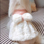 Load image into Gallery viewer, A Dog Wearing The Pink Princess Fleece Dog Coat