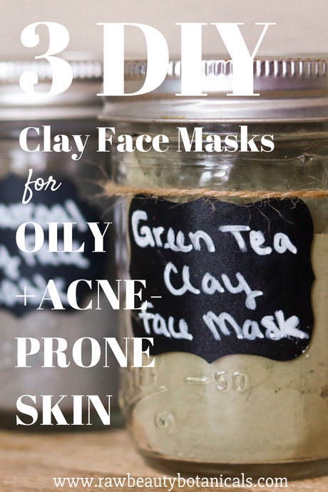 3 Simple DIY Clay Face Masks for Oily, Acne-Prone Skin
