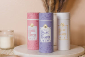 Organic Natural Dry Shampoo Powder