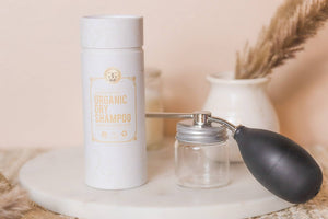 Aerosol Free - Dry Shampoo Powder Dispenser