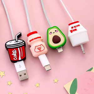 Cartoon Cable Protector Cover Saver