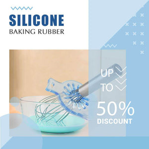 Silicone Baking Rubber —Wipe Any Cream Easily