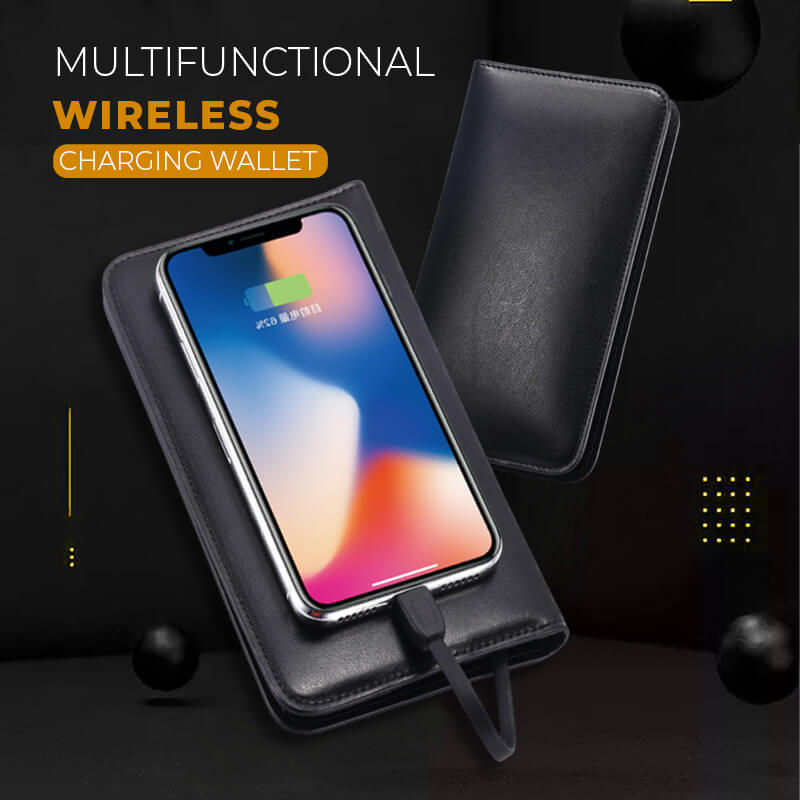 Multifunctional Wireless Charging Wallet