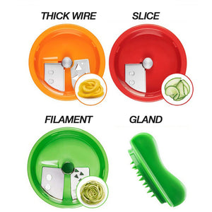 3-Blades HandHeld Graters and Slicers