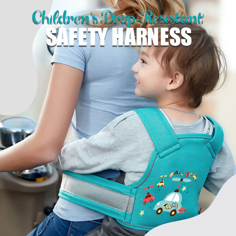 Children's Drop-Resistant Safety Harness