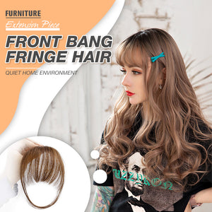 Front Bang Fringe Hair Extension Piece (50% OFF-Limited Time Offer)