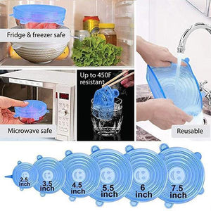 Silicone Preservation Cover (6pcs/Set)