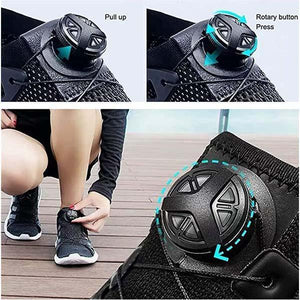 Rotating Automatic Buckle Shoelaces