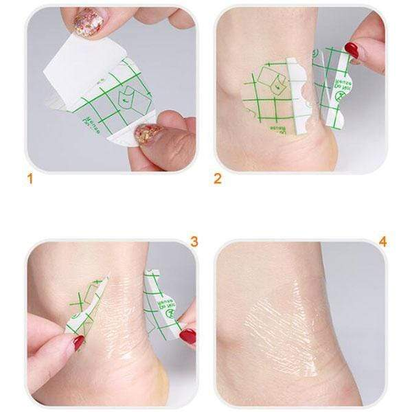 Self-adhesive Invisible Heel Anti-wear Sticker (24PCS)
