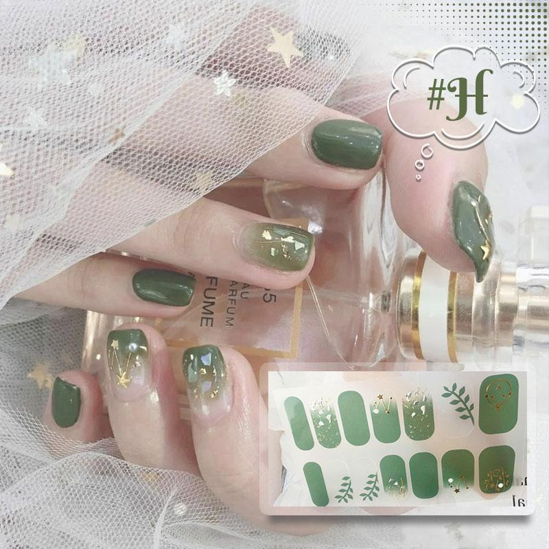 3D Self-Adhesive Rhinestones Nail Art Stickers