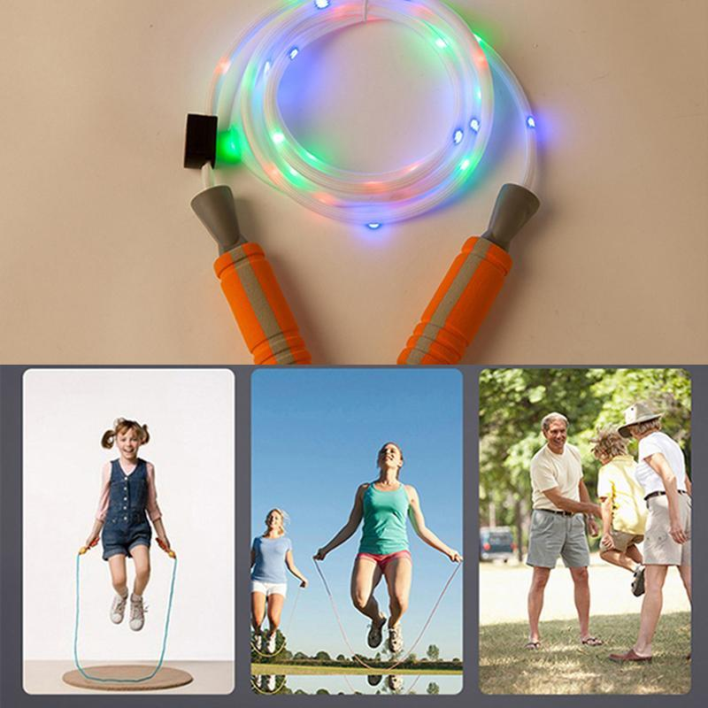 Colorful Flash Skipping Rope