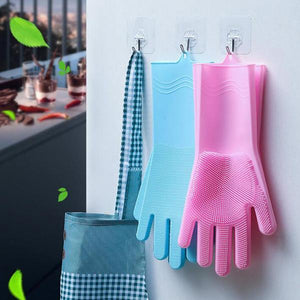 Silicone Cleaning Gloves(50% Off )