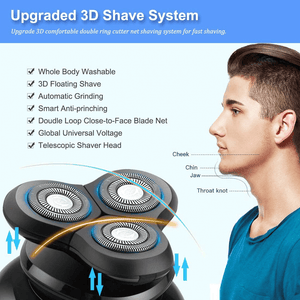 Perfect Shaving Men's 5-in-1 Waterproof Electric Shaver