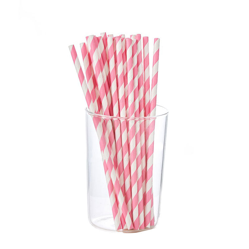 Environmental Protection Paper Straw(100PCS)