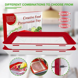 Food Preservation Tray (2PCS)