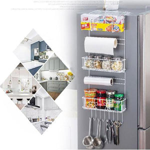 Refrigerator Side Wall Storage Rack