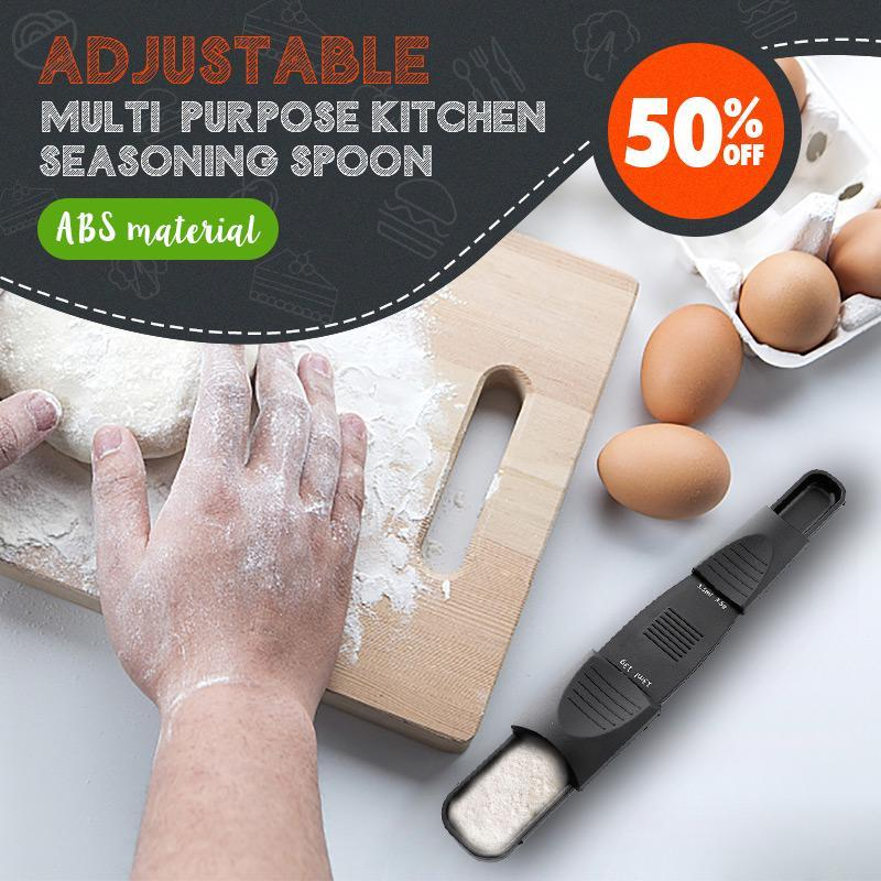 Dual-head Nine-speed Adjustable Measuring Spoons(50% OFF)
