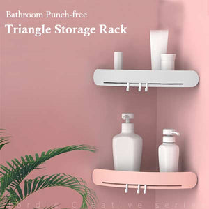 Bathroom Punch-free Triangle Storage Rack