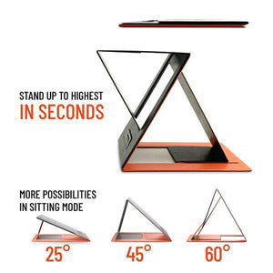 Invisible Sit-stand Laptop Desk