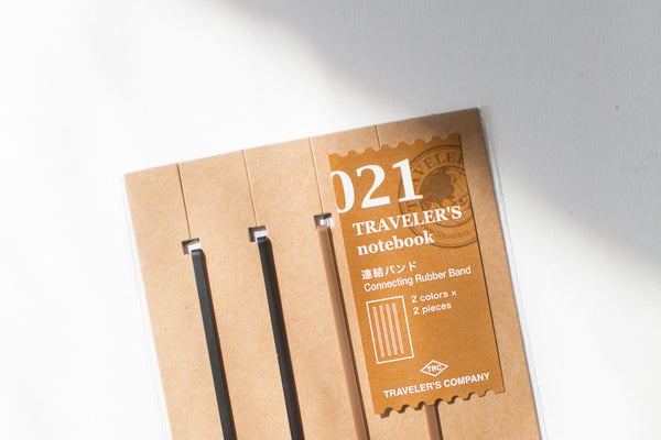 Traveler's Notebook Connecting Rubber Band - 021 Regular Size
